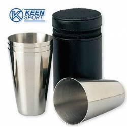 Set bicchieri Keen Sport INOX PELLE FLC48