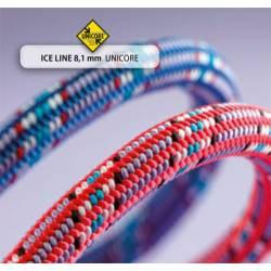 Mezza corda Beal ICE LINE STANDARD DRY COVER UNICORE 8,1 mm