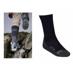 Calze trekking repellenti Care Plus BUGSOX ADVENTURE NAVY