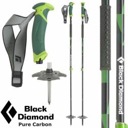 Bastoncini ski Black Diamond PURE CARBON