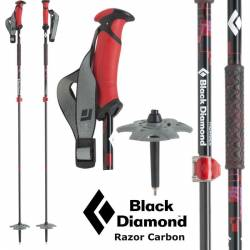 Bastoncini ski Black Diamond RAZOR CARBON