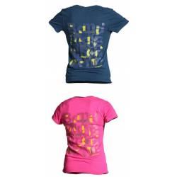 T-shirt donna Black Diamond LETTERS TEE W