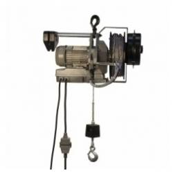 Argano elettrico Tractel MINIFOR TR10+RADIOCOMANDO AVV FUNE 20 M