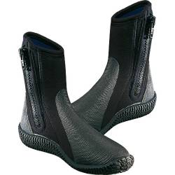 Calzari in neoprene con cerniera Cressi BOOTS WITH SOLES 3-5-7MM