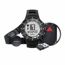 Set orologio fascia GPS pod Suunto QUEST BLACK GPS PACK