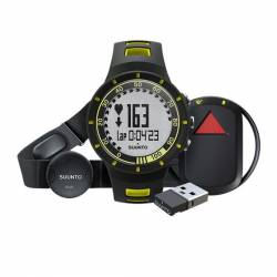 Set orologio fascia GPS pod Suunto QUEST YELLOW GPS PACK