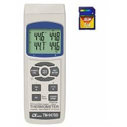 Termometro 4 canali con SD card Lutron TM-947 SD