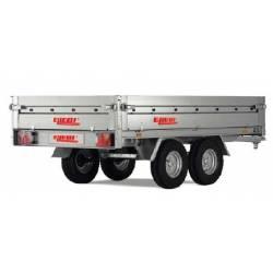 Rimorchio 4 sponde apribile serie 3000 Ellebi LBC 3251 T SF
