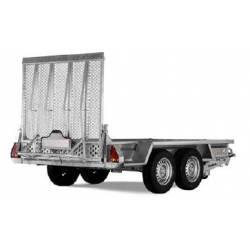 Rimorchio per trasporto macchinari Ellebi LBW MT 3080