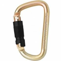 Moschettone assimetrico in acciaio Kratos safety FA5030123