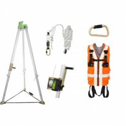 Kit imbracatura anticaduta Kratos safety FA8009A01