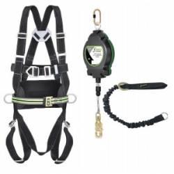 Kit imbracatura Kratos safety n°2 per lavori su scala fissa