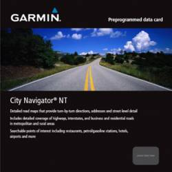 MicroSD/SD City Navigator NT Scandinavia e Islanda Garmin
