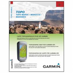 MapSource TOPO Morocco + microSD Garmin