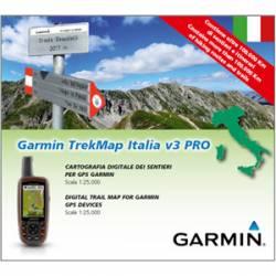 MicroSD Trek Map Italia v3 PRO Garmin
