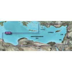 MicroSD-SD BlueChart g2 Vision Garmin VEU016R-Mediterranean