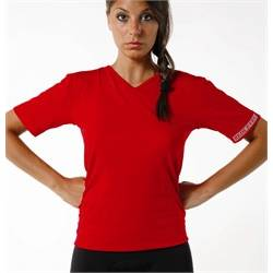 Maglia man.corta Red Level DONNA