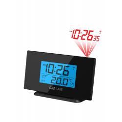 Orologio Sveglia con Videoproiettore Black Labs BASIC
