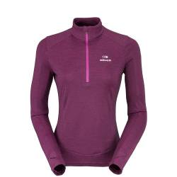 Maglia in Pile donna Eider WOOLY 1/2 ZIP