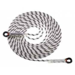 Corda semi-statica Camp LITHIUM 10.5 mm WITH LOOPS