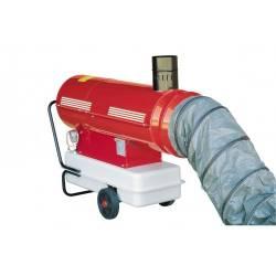 Generatore d'aria calda Ferrino CON GUAINA FLESSIBILE E RACCORDO