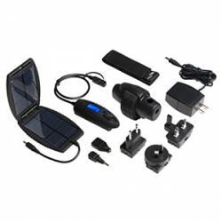 Pacco batteria esterno e mini pannello solare Garmin