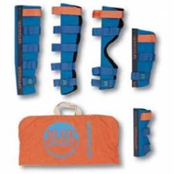 Set steccobende rigide con anima flessibile Spencer BLUE SPLINT