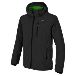 Giacca antivento Cmp MAN ZIP HOOD SOFTSHELL JACKET