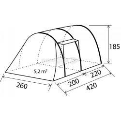 Tenda campeggio Brunner ALEGRA 4