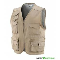 Gilet multitasche New Neri TOBRUK