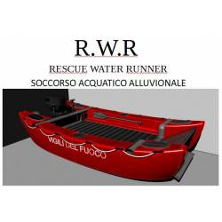 Catamarano per soccorso acquatico alluvionale RESCUE WATER RUNNER