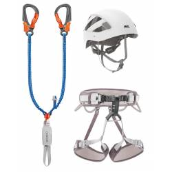Kit via ferrata Petzl EASHOOK
