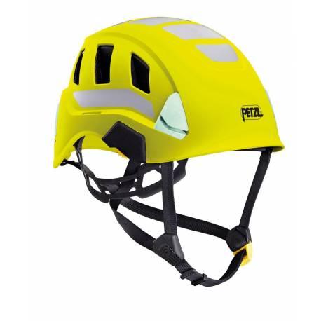 Casco alta visibilità leggero e ventilato Petzl STRATO VENT HI-VIZ