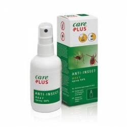 Repellente spray Care Plus Anti-Insect - Deet spray 50%, 60ml