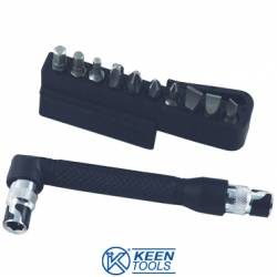 Chiave con 10 inserti Keen Tools