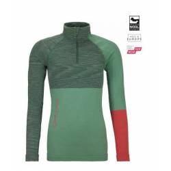 230 COMPETITION ZIP NECK W Maglia mezza zip donna