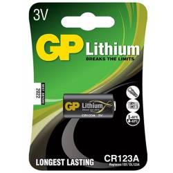 Set 10 blister CR123A-LITIO 3V-CR17345