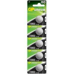 CR2032 - LITIO 3V Set 10 blister