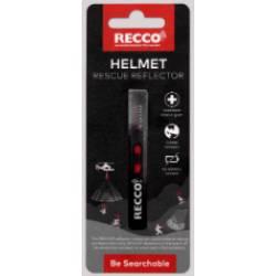 Riflettore soccorso valanga da casco HELMET
