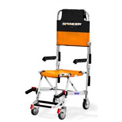 SERIE WELD 427 - Sedia portantina a quattro ruote con braccioli