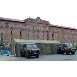 Tenda posto comando di brigata Ferrino
