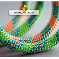 Mezza corda Beal COBRA II BICOLOR GOLDEN DRY 8,6 mm
