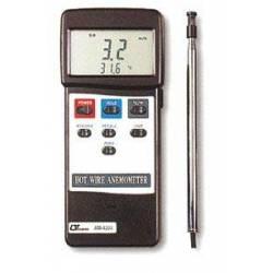 Anemometro con sonda e temperatura LUTRON AM-4204
