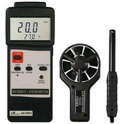 Anemometro con temperatura ed umidità Lutron AM-4205A