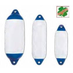 Parabordi cilindrico bianco con testa blu Trem STAR