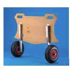 Coppia ruote di alaggio ribaltabili Trem MINI