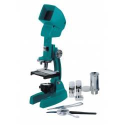 Microscopio in plastica con valigetta Konus KONUSFIRST 600x