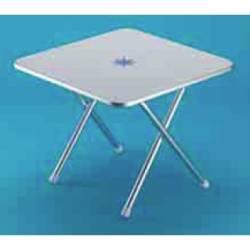 Tavolinetto quadrato pieghevole Trem DECORO MARINO