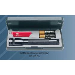 Set torcia con coltello Maglite MINI AA
