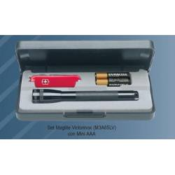 Set torcia con coltello Maglite MINI AAA